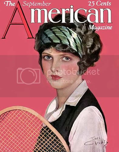 American Magazine cover 1920s