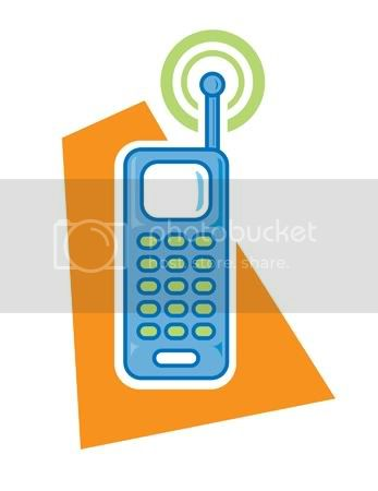 cell phone clip art