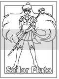 Anime coloring book pages for young animation lovers to color.