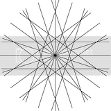Pattern coloring sheets of intersecting lines.