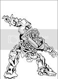 More Transformers coloring books pictures of characters like Cliffjumper, Megatron, Starscream, Blitzwing, etc.