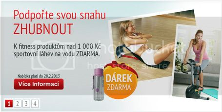 Akce na drek zdarma na produkty fitness TopShop